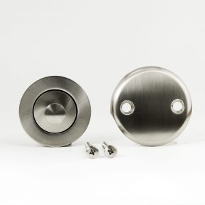 Lift and Turn Two Hole Conversion Kit Brushed Nickel